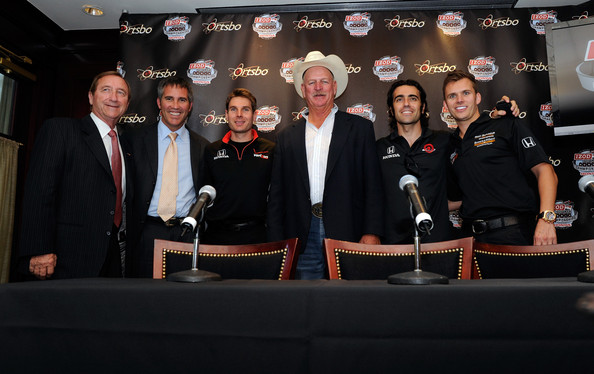 IZOD IndyCar World Championships At Las Vegas - Driver Photo Opp