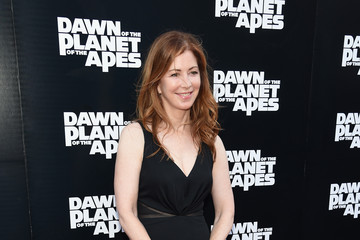 Dana Delany 'Dawn of the Planet of the Apes' Premieres in NYC