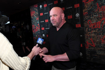 "Dana White Grand Opening Night For ""R.U.N - The First Live Action Thriller"" Presented By Cirque du Soleil"