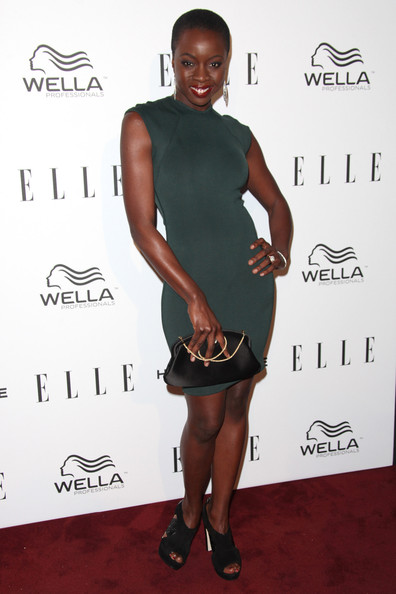 Danai Gurira Attends The Elle Women In Television