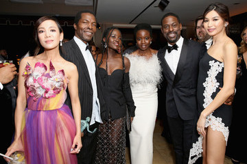 Danai Gurira Lupita Nyong'o Netflix 2019 SAG Awards After Party