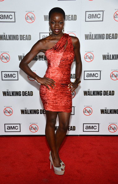 "Danai Gurira - Premiere Of AMC's ""The Walking Dead"" 3rd Season - Arrivals"