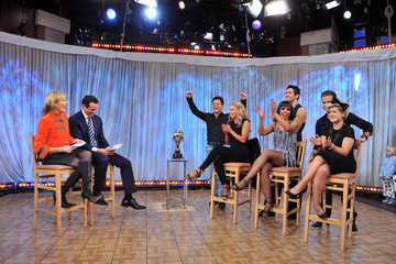 "Christopher Cuomo ""Dancing With The Stars"" Visits ABC's ""Good Morning America"""