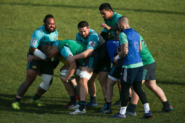 Dane Coles Hurricanes Training Session