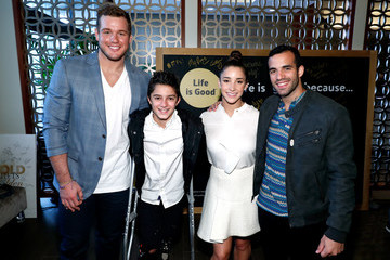 Danell Leyva Life Is Good at the GOLD MEETS GOLDEN Event in Los Angeles