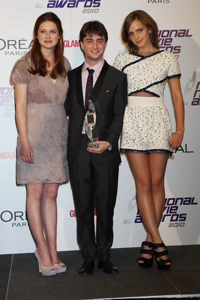 Daniel Radcliffe and Bonnie Wright - National Movie Awards 2010 ...