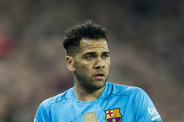Daniel Alves Athletic Club de Bilbao v FC Barcelona - Copa del Rey: Quarter Final