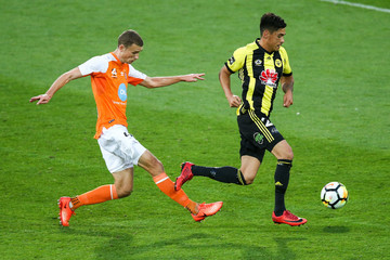 Daniel Bowles A-League Rd 24 - Wellington vs. Brisbane