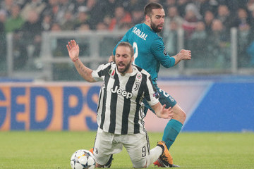 Daniel Carvajal Juventus VS. Real Madrid - UEFA Champions League Quarter Final Leg One