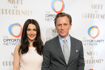 Daniel Craig Rachel Weisz The Opportunity Networks Night of Opportunity