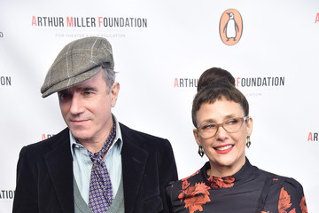 Daniel Day-Lewis Arthur Miller - One Night 100 Years Benefit - Arrivals