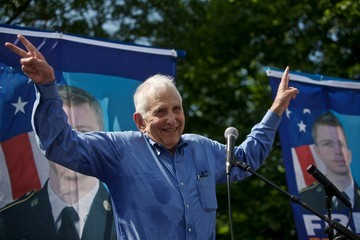 Daniel Ellsberg Rally Held In Support Of Bradley Manning