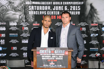 Daniel Geale Roc Nation Sports & Miguel Cotto Promotions Present Miguel Cotto vs. Daniel Geale on June 6 From Barclays Center in Brooklyn Live on HBO: Official Press Conference at The 40/40 Club