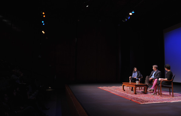 """HBO's Documentary Screening Of The Oscar Winning Film """"Saving Face"""" [saving face,documentary screening of the oscar winning film ``saving face,film,stage,event,theatre,performance,heater,fashion,design,performing arts,scene,auditorium,la frances hui,filmmakers,assistant director,part,hbo,asia society cultural programs,q a]"""