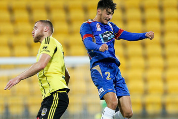Daniel Mullen A-League Rd 24 - Wellington v Newcastle