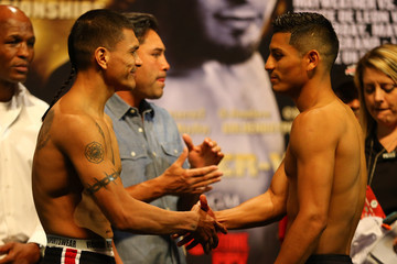 Daniel Ponce De Leon Floyd Mayweather Jr. v Robert Guerrero - Weigh-In