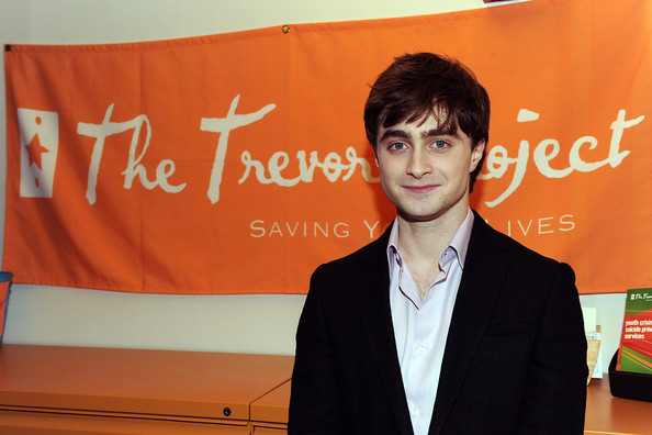 Daniel Radcliffe Actor Daniel Radcliffe visits Trevor Project's eastcoast call center on February 26, 2010 in New York City.
