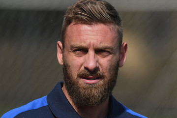Daniele De Rossi Italy Training Session and Press Conference