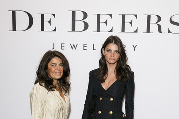 Daniella Helayel De Beers Moments In Light Private Dinner - Arrivals - LFW SS16