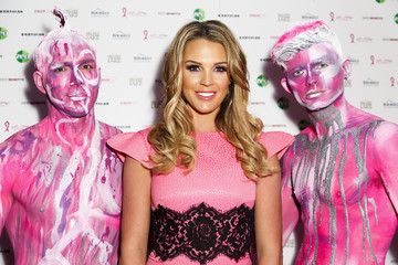 Danielle Lloyd Zeo Pink Ambassador Danielle Lloyd Attends PINKLondon Event in Aid of the Pink Ribbon Foundation