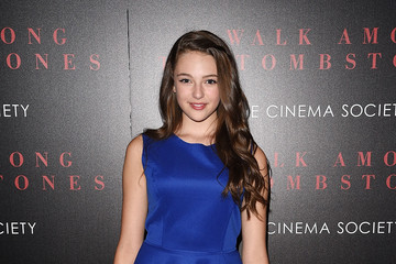 Danielle Rose Russell 'A Walk Among the Tombstones' Screening in NYC — Part 2