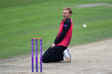 Danny Briggs Sussex v Somerset - Royal London One-Day Cup