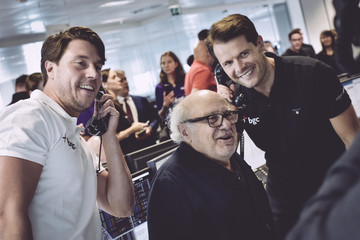 Danny DeVito The 13th Annual BGC Charity Day At BGC Partners In London's Canary Wharf - Behind The Scenes Colour