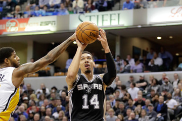 Danny Green San Antonio Spurs v Indiana Pacers
