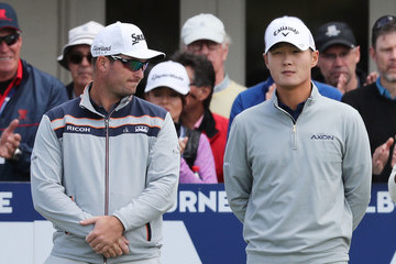 Danny Lee ISPS Handa World Cup of Golf - Day 1