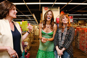 "From ""The Real Housewives of New York City"" Countess LuAnn de Lesseps, Kelly Bensimon and Jill Zarin celebrate Earth Week at the Goodwill Denim Drive at JCPenney on April 24, 2010 in New York City."