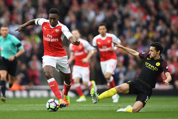Danny Welbeck Arsenal v Manchester City - Premier League