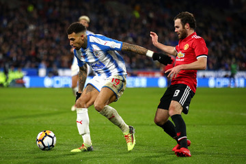 Danny Williams Huddersfield Town v Manchester United - The Emirates FA Cup Fifth Round