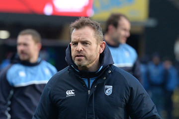 Danny Wilson Cardiff Blues v Scarlets - Guinness Pro14 Round 12