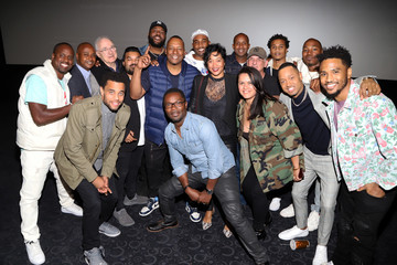 Dante Spinotti Miles Stroter Los Angeles Influencer Special Screening of Sony Pictures' BLACK AND BLUE, Hosted By Terrence J And Director Deon Taylor