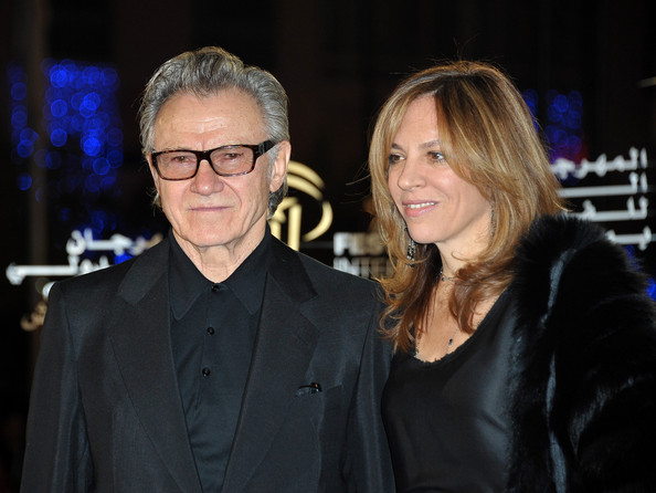 "Daphna Kastner Actor Harvey Keitel (C) his wife Daphna Kastner attend the ""Neds"" premiere during the10th Marrakech Film Festival on December 8, 2010 in Marrakech, Morocco."