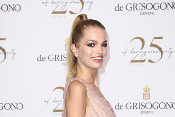 Daphne Groeneveld De Grisogono Party Red Carpet Arrivals - The 71st Annual Cannes Film Festival