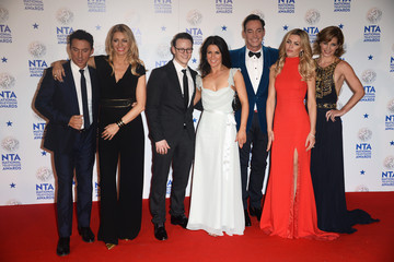 Darcey Bussell Bruno Tonioli National Television Awards Winners Room