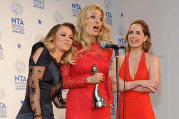 Darcy Bussell National Television Awards - Winners Boards