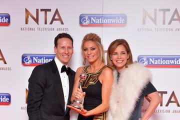 Darcy Bussell National Television Awards - Winners Room