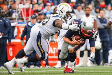 Darius Philon Los Angeles Chargers v New England Patriots