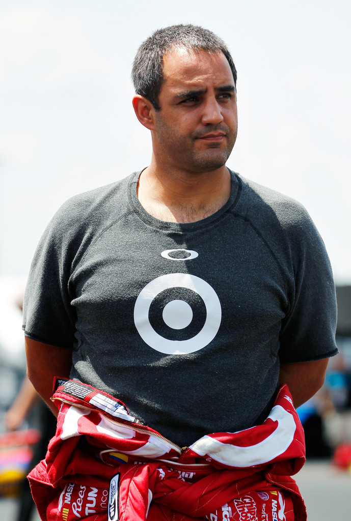 Juan Pablo Montoya in Darlington Raceway: Day 1 - Zimbio