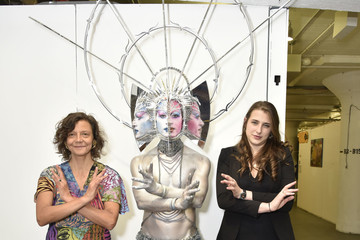 Darrell Thorne Chashama Open Studios And Board Welcome For Leah Lane