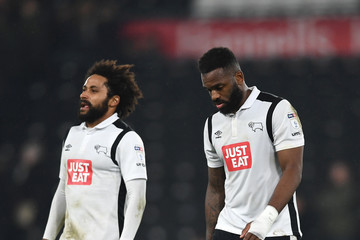 Darren Bent Derby County v Cardiff City - Sky Bet Championship