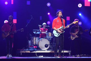 Darren Criss Celebs Attend WE Day New York Welcome to Celebrate Young People Changing the World