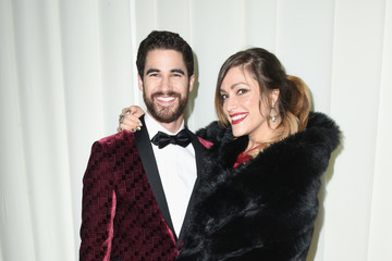 Darren Criss Mia Swier 26th Annual Elton John AIDS Foundation Academy Awards Viewing Party With Cocktails by Clase Azul Tequila