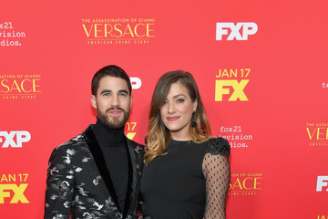 Darren Criss Mia Swier Premiere Of FX's 'The Assassination Of Gianni Versace: American Crime Story' - Arrivals