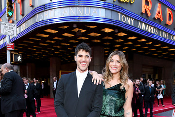 Darren Criss Mia Swier 73rd Annual Tony Awards - Red Carpet