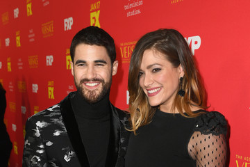 Darren Criss Mia Swier Premiere Of FX's 'The Assassination Of Gianni Versace: American Crime Story' - Red Carpet