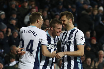 Darren Fletcher West Bromwich Albion v Hull City - Premier League