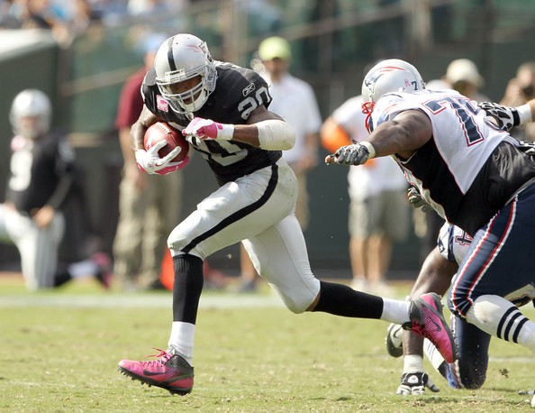 Darren McFadden could turn the tide for the Raiders.